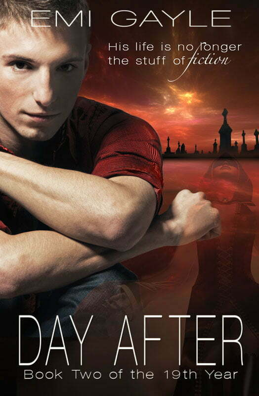 It's here! The cover to Day After! Book 2 in the 19th Year Trilogy is here! Wanna see?