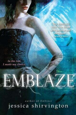 If you saw it, would you read it? Emblaze by Jessica Shirvington #ReadOrNot