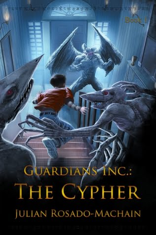 If you saw it, would you read it? Guardians Inc.: The Cypher by Julian Rosado-Machain