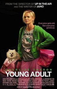 Young Adult movie with Charlize Theron