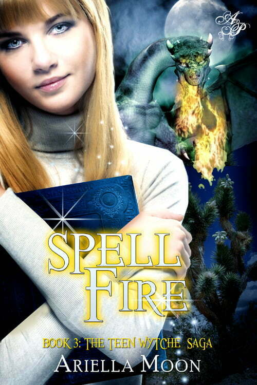 What is the favorite high school of Spell Fire author, Ariella Moon? It's inside!